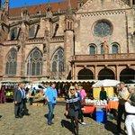 Freiburg center market