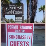 Very misleading to the average guest! BEWARE, these towing zones completely surround the hotel!