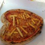 Pizza cuore