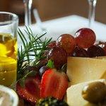 Aceites de oliva, quesos, frutas....para maridar con nuestros vinos