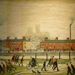 Lincoln by Lowry at Usher Gallery