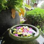 Fresh flowers are everywhere - everyday