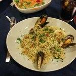 Risoto de frutos do mar