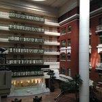 Inside the hotel atrium