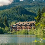 Nita Lake Lodge in summer time