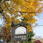 Fall colors at Hopkins Inn