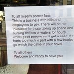 A Nasty Note to Fans of the Beautiful Game