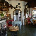 Rusticana dining room
