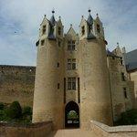 L'entrée du Château de Montreuil-Bellay
