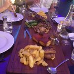 Main course platter
