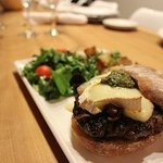Try our signature Brie Burger - made with herbs, olive oil caramelized onions and herb mayonnais