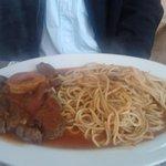 Ossobuco con spaghettinis