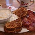 country ham breakfast