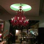 chandelier in Le Grill