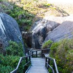 Stairs to Elephant Cove