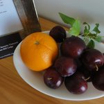Home Grown Plums