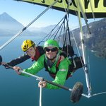 Hang gliding in the Alps!