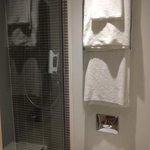 New,Huge walk in showers