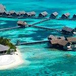 Bird View of Shangri-La's V illingili Resort & Spa, Maldives