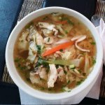 Chicken Pho first view