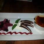The amazing creme brule. Its to die for