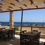 Η θέα απο το Εστιατόριο Μπονάτσα