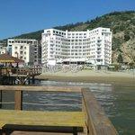 Beach bar on the sea