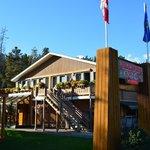 Hotel main lodge