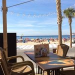 The nicely situated Bikini Beach Bar close to Don Miguel I