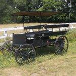 Amish vehicule.