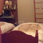 room with messanine floor