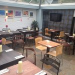 Our lovely newly refurbished glasshouse