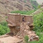 maison sur rocher