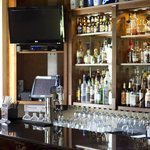 Addie's Bourbon Bar is a fun area to gather with friends and enjoy a delicious dinner!