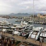 Porto di Cannes una mattina di ottobre