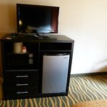TV, Fridge, Microwave & bureau