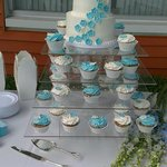 Wedding cake by The Cookie Jar