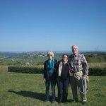 Susan, Prof. Gwen, and Frank