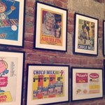 Posters of old chocolate favorites