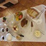 tavola della colazione