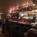 The bar......