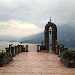 View of Lake Como from large balcony