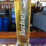 The new perfect pint tucher pilsner 5% abv