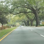 Abercorn Street from hotel to historic district