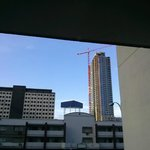 Southwest view from our room - lotsa construction in town
