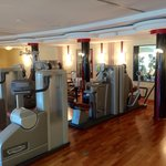 Gym equipped with TechnoGym