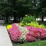 Federal Reserve Bank of Atlanta: The garden by the entrance