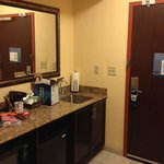 Kitchenette area - King Suite