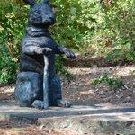 Cute sculpture
