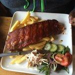 Succulent ribs....